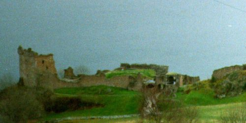 Urquhart Castle - before her dignity was sacrificed