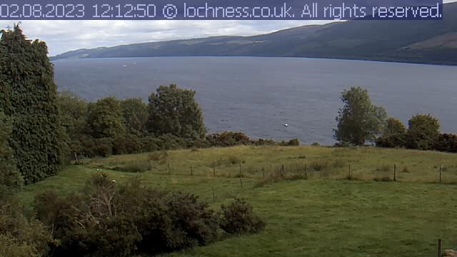 Loch Ness Live Cam, Scotland